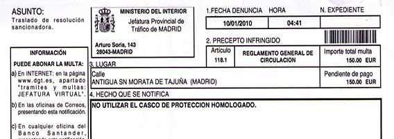 Funcionarios que hacen desparecer las multas de tr fico de - Jefatura provincial de trafico de santander ...