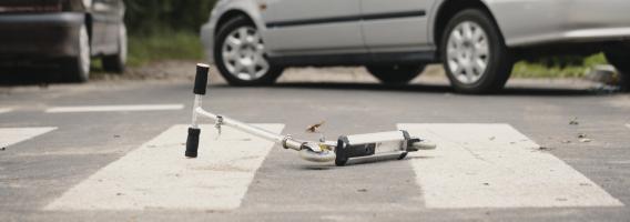 Estas son las lesiones que puedes sufrir en un patinete a 25 Km/h