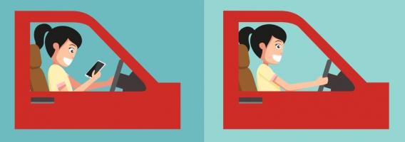 El 28% de muertes, consecuencia de distracciones al volante