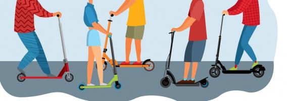 Cómo circular con patinete para no ser multado