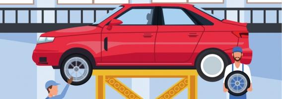 ¿Quién me paga los daños de mi coche provocados en un taller?
