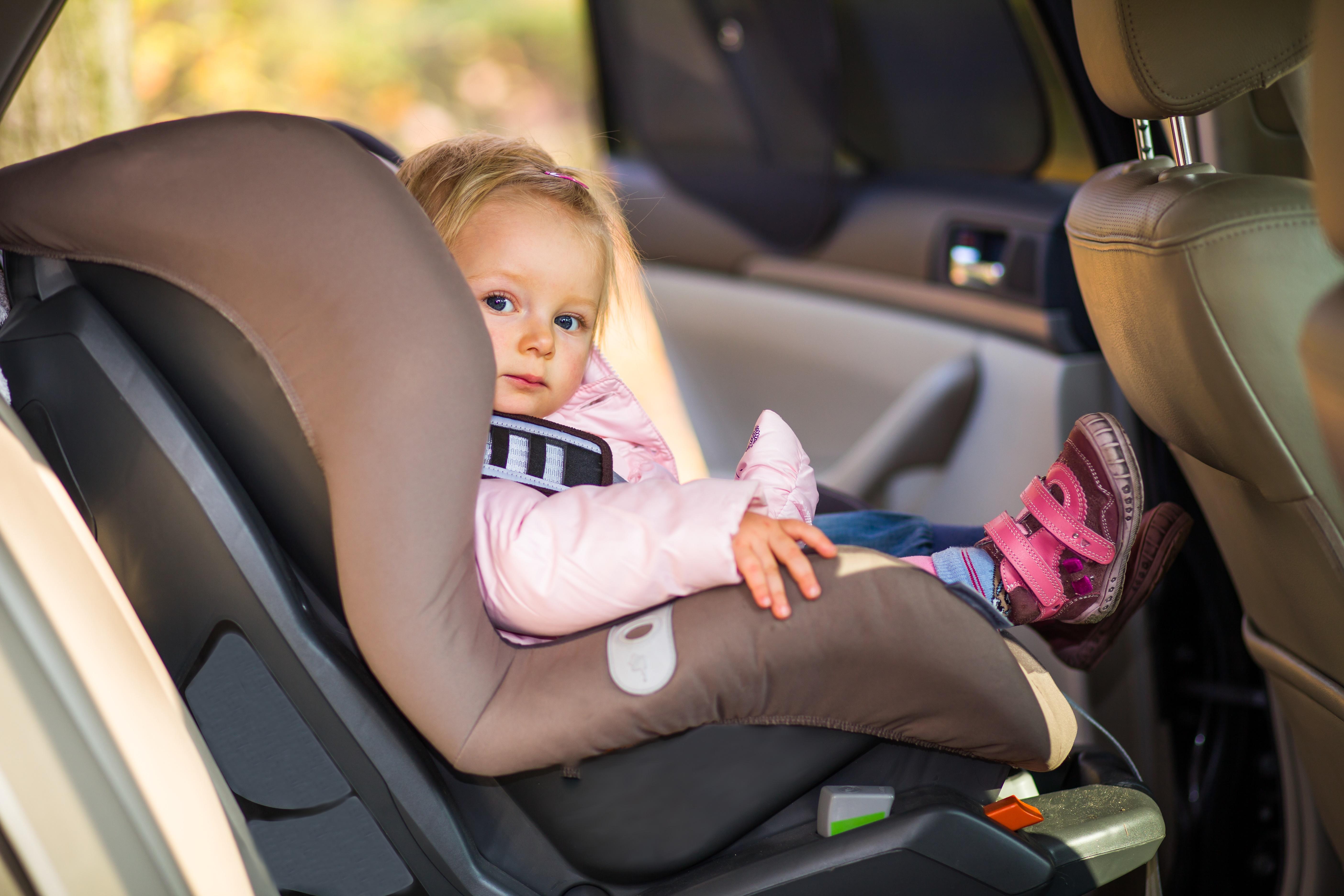 Cinturon seguridad infantil