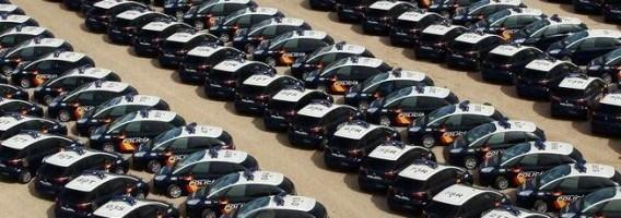 Los vehículos policiales pagan 40 millones al año por sus seguros