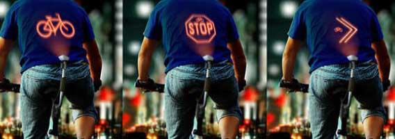 Indicador de bicicletas